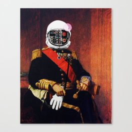 Space General Plug Man Canvas Print
