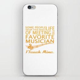 Music Teacher iPhone Skin