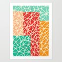 Abstract geometric art by xizang