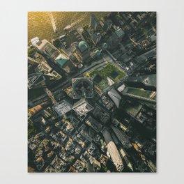 9/11 Memorial Sites Canvas Print