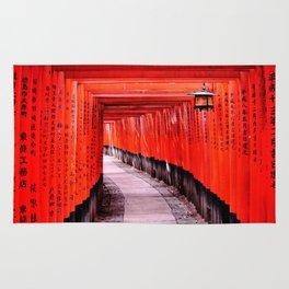 Through the Gates (Kyoto, Japan) Rug