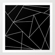 Invert origami Art Print