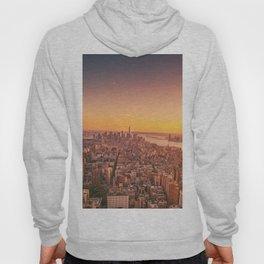 New York City Sunset Skyline Hoody