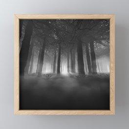 Soul of the Forest B&W Framed Mini Art Print