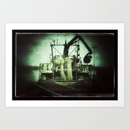 Murky Waters Art Print