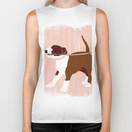 Eugenie the Bull Terrier Biker Tank