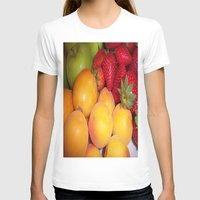 fruits T-shirts featuring Fruits by EnelBosqueEncantado
