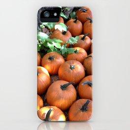Fall Pumpkin Patch iPhone Case