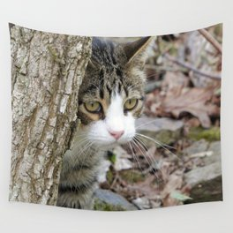My Hunting Cat Wall Tapestry