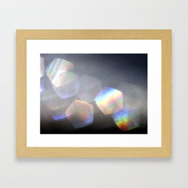 Forms Arising From Space Framed Art Print