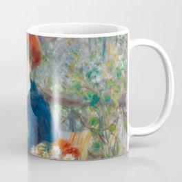"""Pierre Auguste Renoir """"Two Sisters"""" Coffee Mug"""