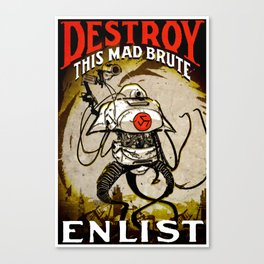 THIS MAD BRUTE- GMB CHOMICHUK Canvas Print