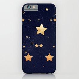 Galaxy of Stars Midnight Blue iPhone Case