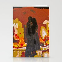 john mayer Stationery Cards featuring Slow Dancing in a Burning Room - John Mayer by Max Freund