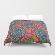 Exotic Plant Life Duvet Cover