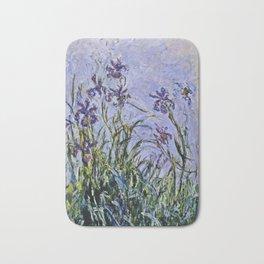 Claude Monet  -  Iris Mauves Bath Mat