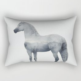 Brumous Rectangular Pillow