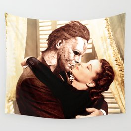 Michael Myers as Clark Gable Wall Tapestry
