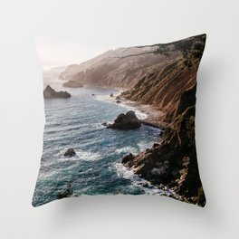 Big Sur Coast Throw Pillow
