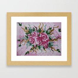 roses (2 of 3) Framed Art Print