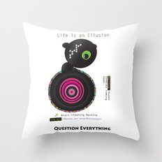 Brain Cleaning Throw Pillow