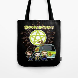 Scoobynatural And The Crew Tote Bag