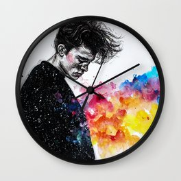 I hope to find relief this night Wall Clock