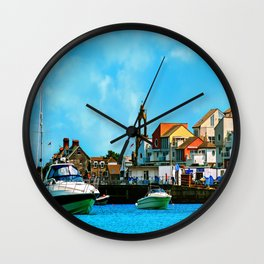 Swanage Sea View Wall Clock