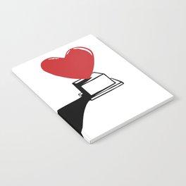 Pedestal love Notebook