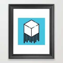 Cube Space Framed Art Print