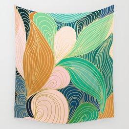 Swirly Interest Wall Tapestry