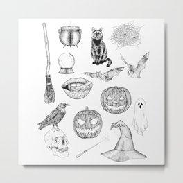 This Is Halloween Metal Print
