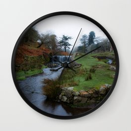 Stream in the park Wall Clock