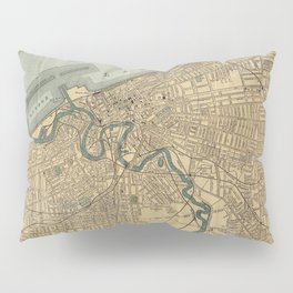 Vintage Map of Cleveland OH (1894) Pillow Sham