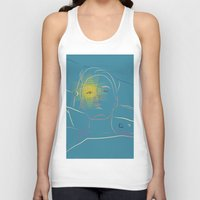 blondie Tank Tops featuring Blondie by YESWORLD