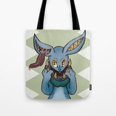 Bunnies have a Bite too Tote Bag