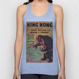 Vintage Movie Posters, King Kong Unisex Tank Top