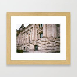 Reichstag Heads Framed Art Print