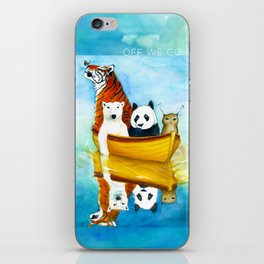 Herbert at Sea iPhone Skin