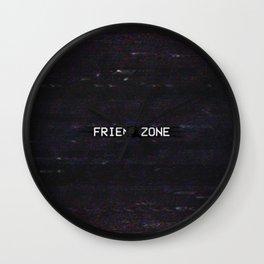 FRIEND ZONE Wall Clock