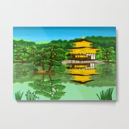The Golden Temple Metal Print