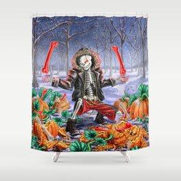 Wanna Smash Pumpkins? Shower Curtain