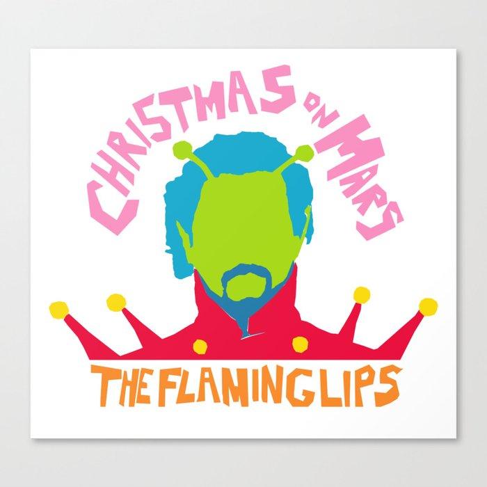 Christmas on Mars - The Flaming Lips Canvas Print