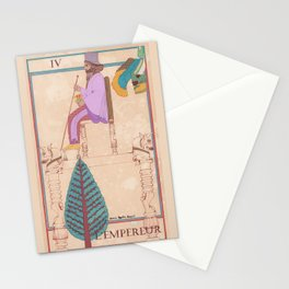 Tarot card L'Empereur Stationery Cards