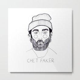 Chet Faker Metal Print