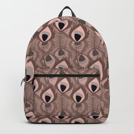 Tribal feather pattern 016 Backpack
