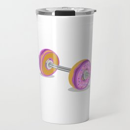 Donut Barbell Travel Mug