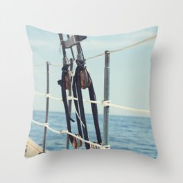 It's a Maine Kind of Day Throw Pillow
