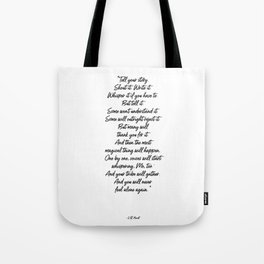 my tribe Tote Bag