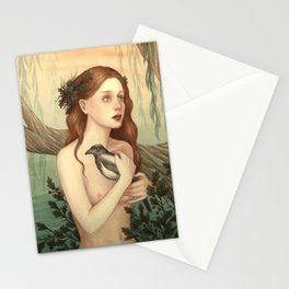 One for sorrow, two for joy Stationery Cards
